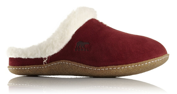Sorel W's Nakiska Slide Shoes Garnet Red
